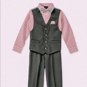 Nautica   Formal 4 Piece Vest Set